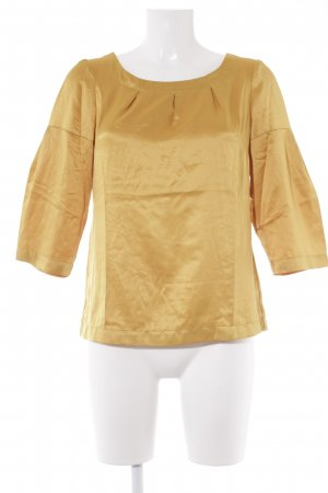 Banana Republic Blusa in seta oro stile professionale