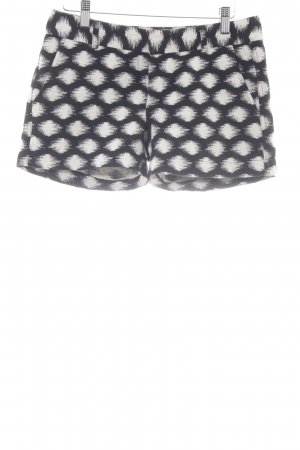 Banana Republic Shorts black-white spots-of-color pattern casual look