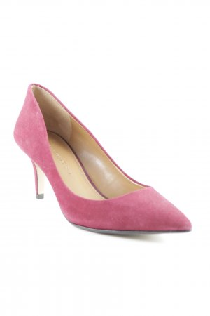 Banana Republic Pointed Toe Pumps dark red simple style