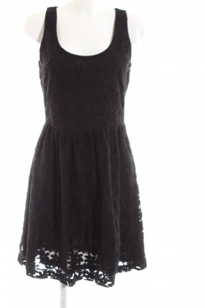 Banana Republic Lace Dress black flower pattern elegant