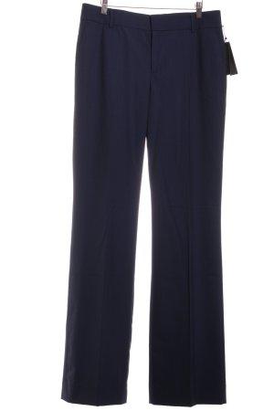 Banana Republic Pantalón tipo suéter azul oscuro-azul claro raya diplomática