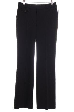 Banana Republic Pantalón tipo suéter negro estilo clásico