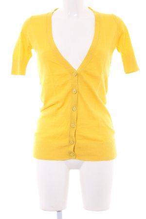 Banana Republic Cardigan in maglia giallo scuro stile casual