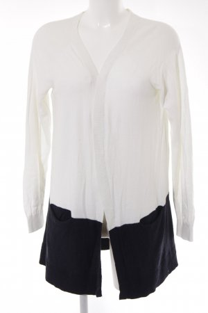 Banana Republic Knitted Cardigan white-dark blue casual look