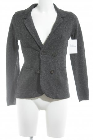 Banana Republic Strickjacke anthrazit meliert Casual-Look