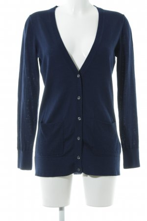 Banana Republic Strickjacke dunkelblau Casual-Look