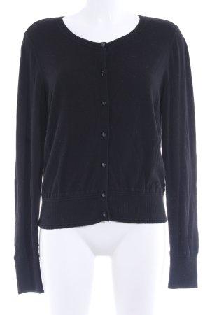 Banana Republic Veste en tricot noir style simple