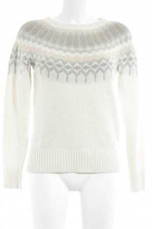 Banana Republic Knitted Sweater abstract pattern casual look