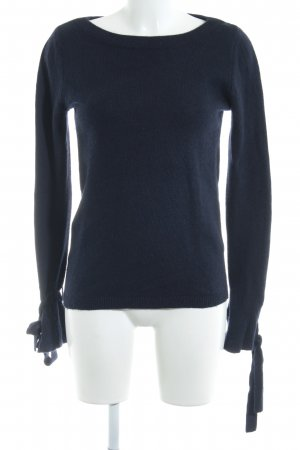 Banana Republic Strickpullover dunkelblau Casual-Look