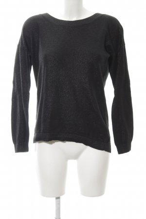 Banana Republic Knitted Sweater black casual look