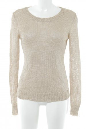 Banana Republic Strickpullover goldfarben Casual-Look