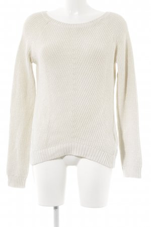 Banana Republic Strickpullover hellbeige-silberfarben Casual-Look