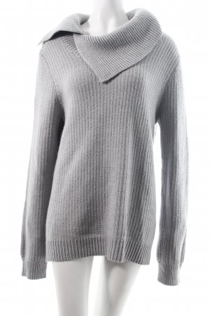 Banana Republic Strickpullover hellgrau Kuschel-Optik