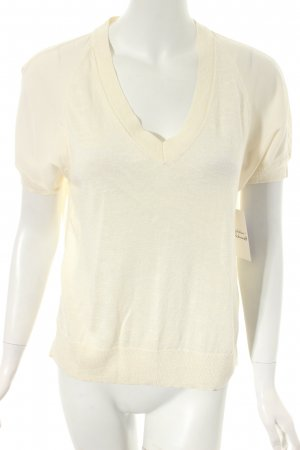 Banana Republic Strickshirt creme Casual-Look