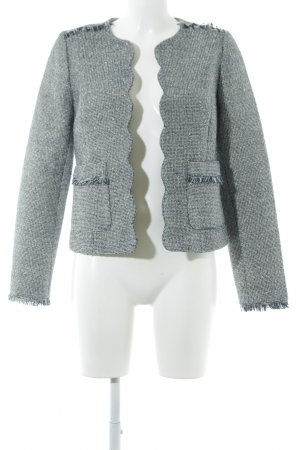 Banana Republic Sweatblazer dunkelblau-creme Glitzer-Optik