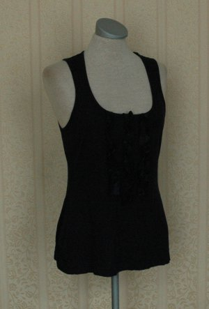 Banana Republic Heritage  Tank Top dark blue silk
