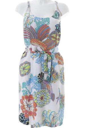 Banana Republic Trägerkleid abstraktes Muster extravaganter Stil