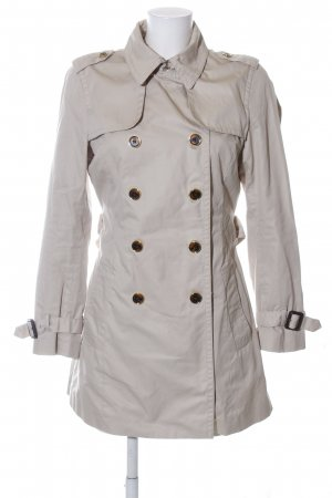 Banana Republic Trenchcoat wollweiß Business-Look