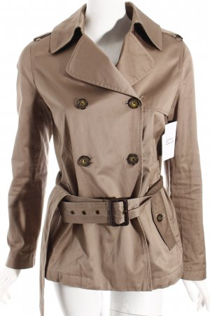 Banana Republic Trench Coat grey brown classic style