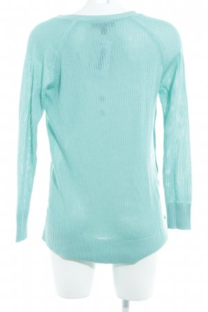 Banana Republic V-Neck Sweater turquoise casual look