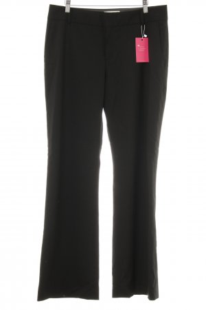 Banana Republic Woolen Trousers black business style