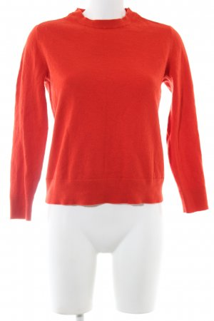 Banana Republic Wool Sweater red business style