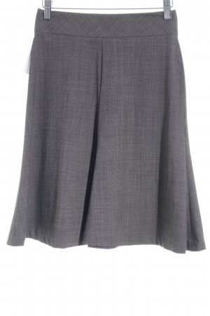 Banana Republic Wollrock dunkelgrau-grau Business-Look