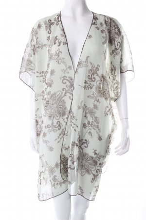 band of gypsies kimono patterned aquamarine
