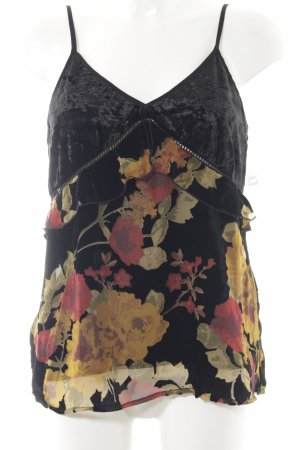 Band of Gypsies Top met franjes bloemenprint romantische stijl