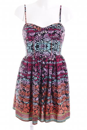 Band of Gypsies Vestido tipo overol estampado floral elegante