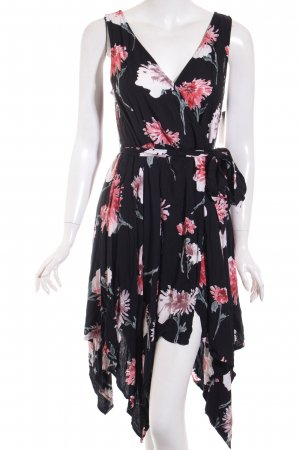 Band of Gypsies Wickelkleid florales Muster Romantik-Look