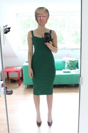 Pencil Dress green-forest green