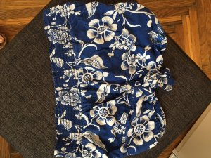 Bandeau Cropped-Top mit Schleife
