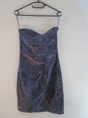 Bandeau Dress Metallic H&M 34 /XS Schleppe Gossip Girl Lilac