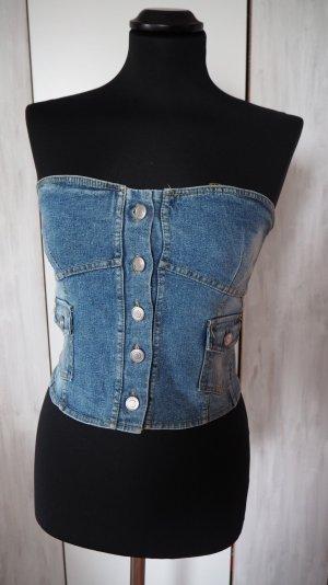 Bandeau Jeans Top in M von Form e Couleur