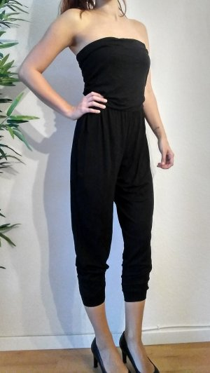 Best Connections Jumpsuit black cotton