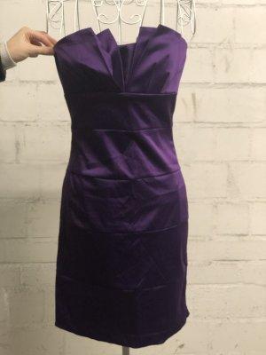 Midi Dress dark violet