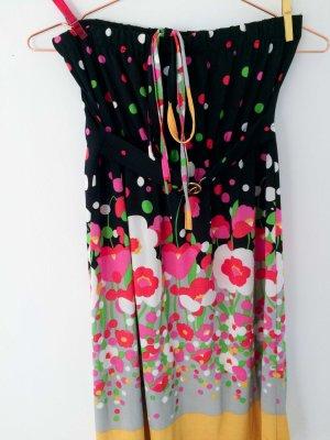 Bandeau-Kleid mit Blumenprint | Marke Orion, gekauft bei Topshop London