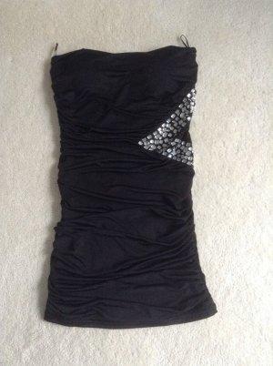 Bandeau-Kleid / schwarz / Gr. 34 XS