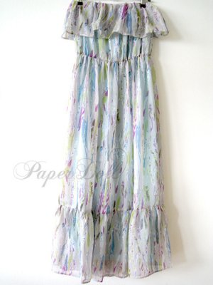 Bandeau-Kleid Sommer Kleid Maxikleid NEU