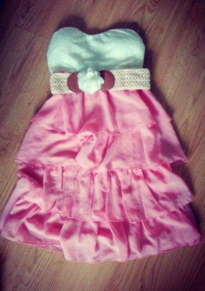 Bandeau-Kleid spitze