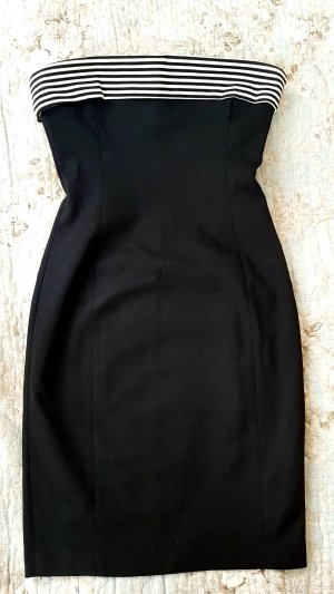 Zara Bandeau Dress black-white