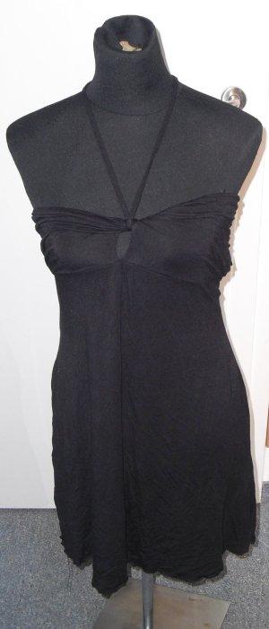 Bandeau-Minikleid schwarz S/M - Laura Scott