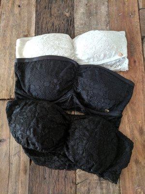 Atmosphere Top a fascia bianco-nero