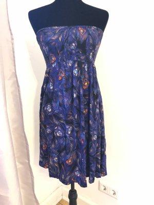 Bandeau Schulterfreies Kleid top Zustand Sommer Look
