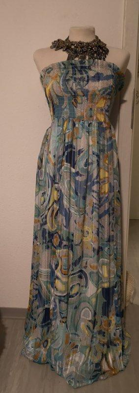 Bandeau Sommerkleid in Aquatönen