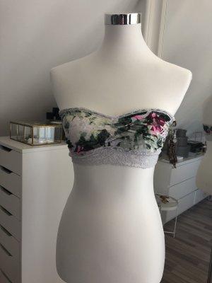 H&M Soutien-gorge gris vert-rose