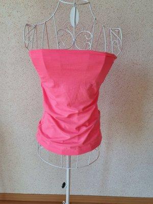 Bandeau Top neon pink