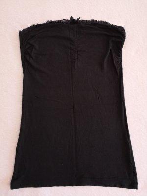 Amisu Bandeau Top black