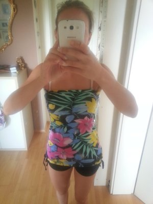 Bandeau Top Rock Tropical S/M